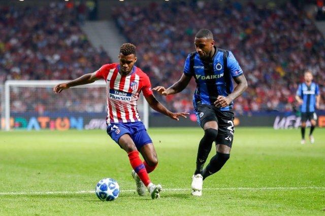 Lemar en el Atlético Madrid - Brujas