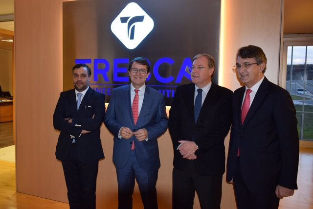 Visita de Fernández Mañueco a Tresca.
