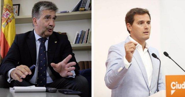 Ignacio Cosidó y Albert Rivera