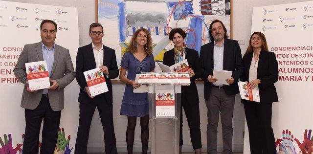 Presentación Informe Menores y contenidos digitales