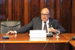 Amat (Sindicatura de Comptes), membre honorari del Col·legi de Censors Jurats de Comptes de Catalunya (PARLAMENT - Archivo)