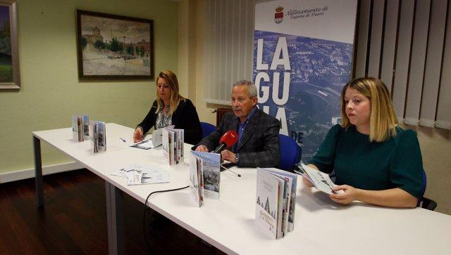 Rueda de prensa de presentación de la campaña navideña en Laguna. 10-12-18