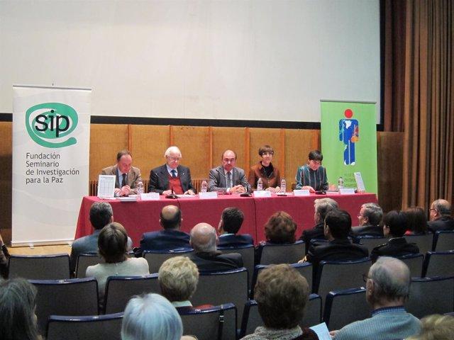 La Fundación SIP ha organizado este acto en el Centro Pignatelli de Zaragoza