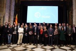 La Generalitat lliura els Premis Nacionals de Comunicació 2018 (ACN)