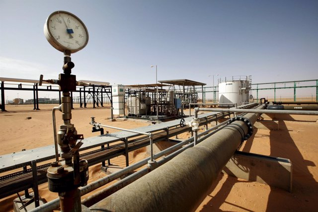 Campo petrolero de Sharara, Libia