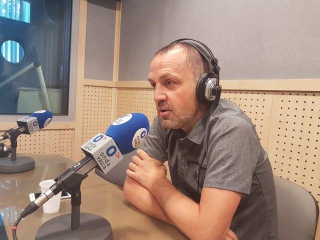 Unai Urruzuno, portavoz suplente de Bildu en el Parlamento vasco