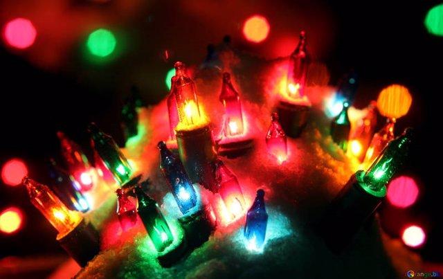 Origen luces de navidad