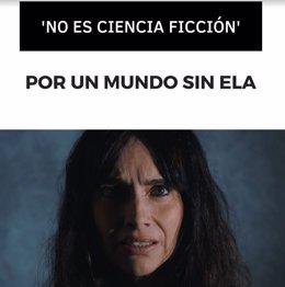 Campaña 'No es ciencia ficción, por un mundo sin ELA' de FUNDELA