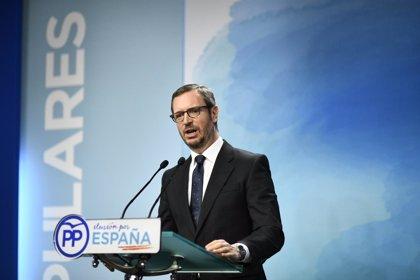 """Maroto dice que """"en breve"""" tendrán candidato a la Alcaldía de Madrid y que el PP madrileño debe hacer una propuesta"""