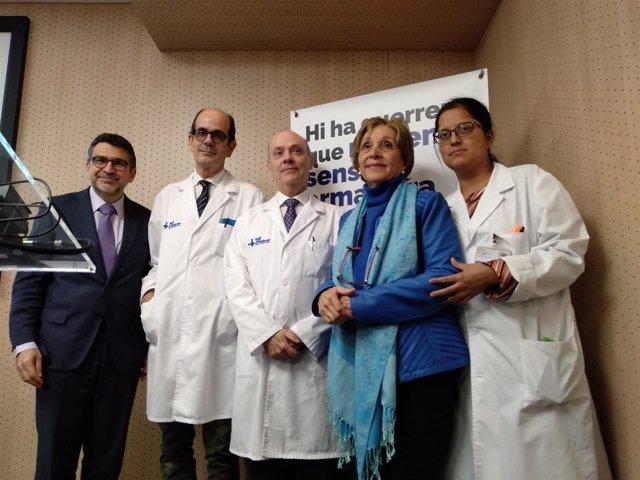 El Hospital Vall d'Hebron prueba una técnica pionera en tumor de páncreas