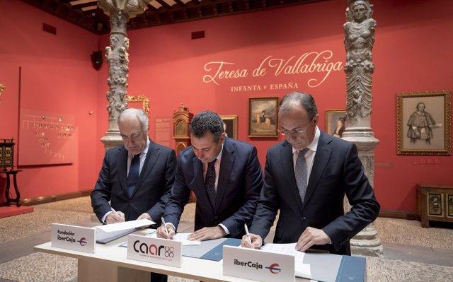 Ibercaja y el Clúster de Automoción de Aragón colaborarán para mejorar la competitividad de las empresas del sector