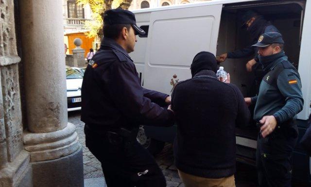 Juicio pornografía Madridejos
