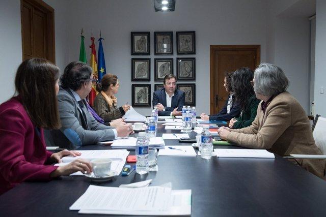 Reunión del Consejo de Gobierno de la Junta este martes