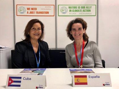 España entrega a Cuba los resultados de un análisis sobre los efectos del cambio climático en la costa de la isla