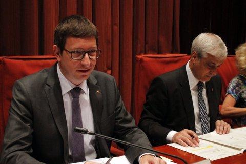 Carles Mundó (Justícia) compareix al Parlament