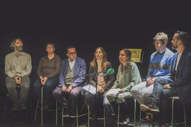 Lista para las próximas municipales a validar por inscritos de Vamos Granada