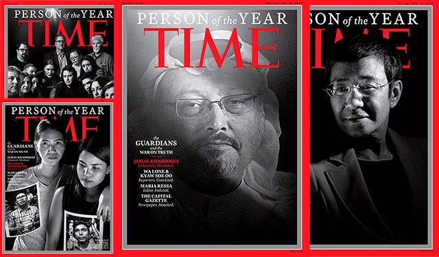 TIME nombra persona del año a Jashogi y a periodistas perseguidos