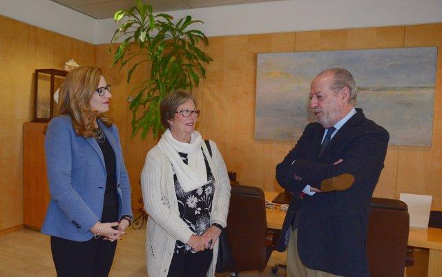 La Diputación y Paz y Bien analizan la programación del 40 aniversario de la asociación en 2019