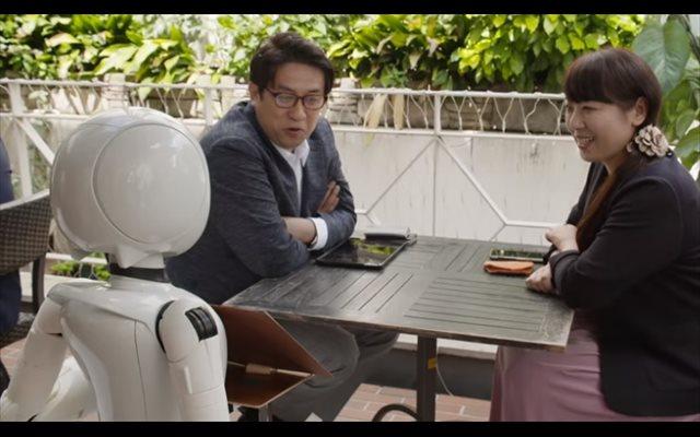 Una cafetería de Tokio, Japón, encontró una manera de combinar la tecnología con la inclusión social