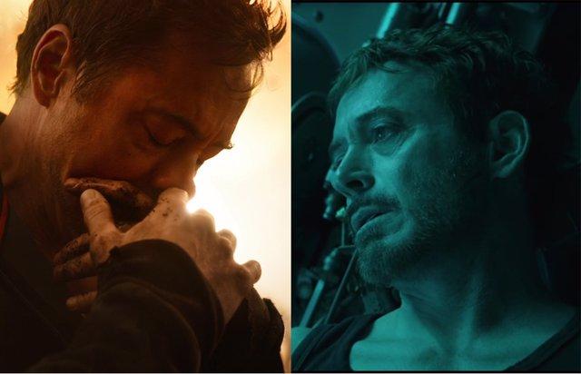 Iron Man en Vengadores EndGame e Infinity War