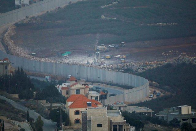 Frontera entre Líbano e Isarel