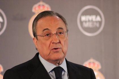 """Florentino Pérez: """"En el Madrid siempre queremos más, estamos ilusionados por ganar el Mundial de clubes"""""""
