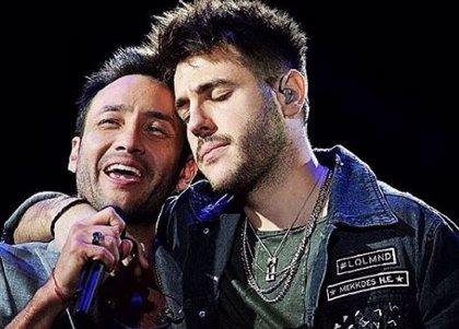 Antonio José deslumbra en Argentina en el concierto de Luciano Pereyra ante 35.000 espectadores