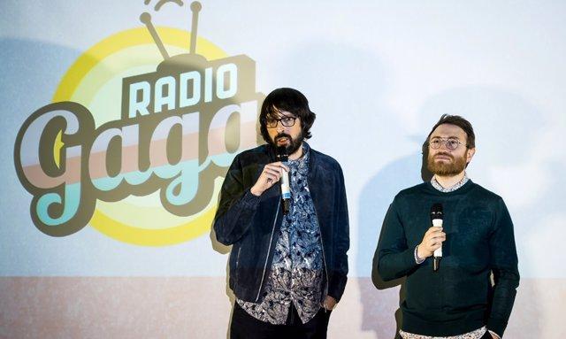 Manuel Burque y Quique Peinado presentan  'Radio Gaga