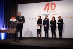EL PRESIDENTE DE EUROPA PRESS REIVINDICA LOS PRINCIPIOS DE LA AGENCIA EN SU 40 ANIVERSARIO EN CATALUNA