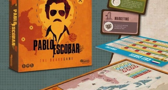 Juego de mesa Pablo Escobar