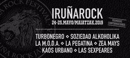 Turbonegro, Soziedad Alkoholika, La Pegatina y La M.O.D.A. estarán en el Iruña Rock 2019