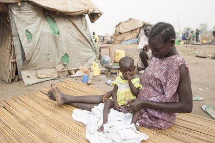 El 90% de los refugiados de Sudán del Sur son mujeres y menores