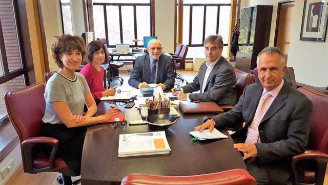 Reunión Satse con el Ministerio