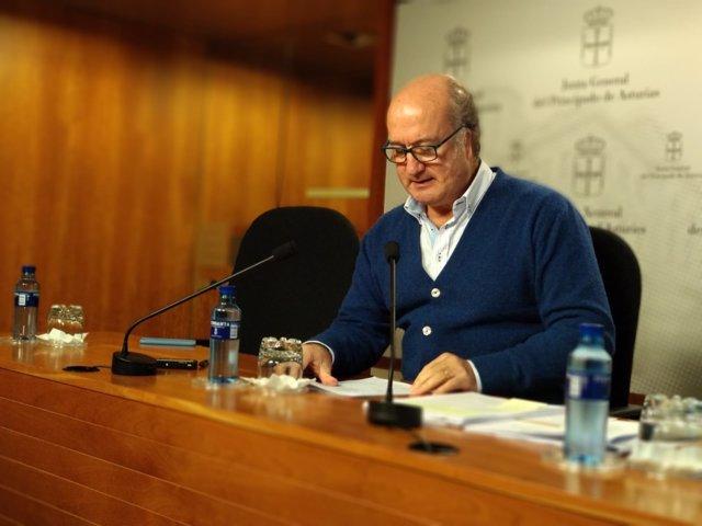 Luis Venta, secretario general del PP de Asturias