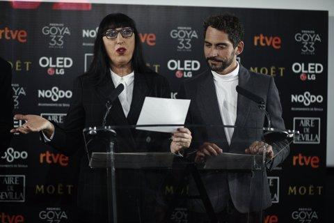 Lectura de nominats dels Premis Goya 2018