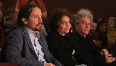 """Pablo Iglesias demana a Sánchez que no cedeixi a les """"pressions"""" perquè """"incendiï Catalunya"""" i parli amb la Generalitat (RICARDO RUBIO / EUROPA PRESS)"""