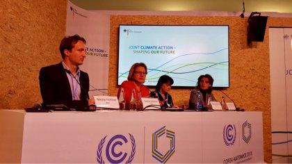 España señala en la COP24 que impulsará la transición justa hacia la descarbonización con convenios en zonas vulnerables
