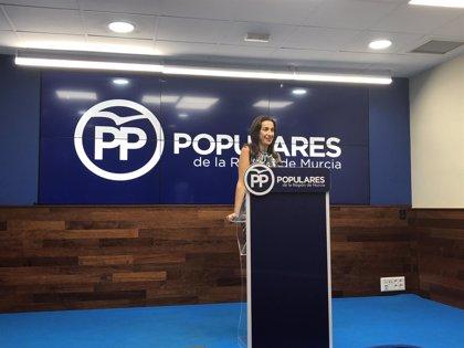 """PP recuerda a Conesa que a Murcia """"le corresponden más de 600.000 euros  para la lucha contra la violencia de género"""""""