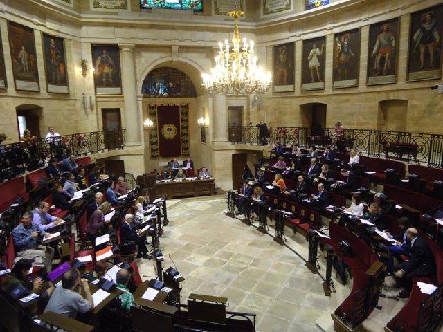 Foto de archivo de Pleno de Juntas de Gernika