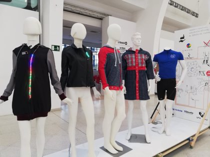 Estudiantes de diseño de Cesine presentan cuatro proyectos 'wearables' a la Semana del Diseño de Bilbao