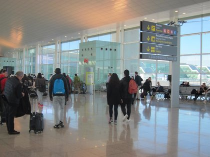 El Aeropuerto de Barcelona acumula 46,6 millones de pasajeros hasta noviembre, un 5,9% más