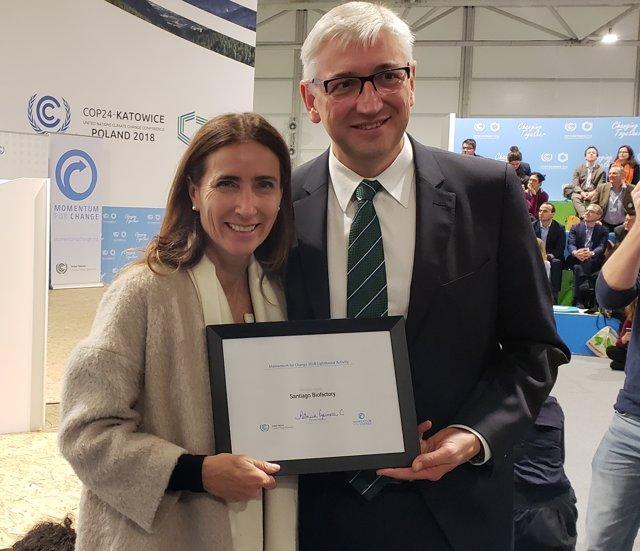 La ONU premia a SUEZ en la COP24 por desarrollar biofactorías en Chile
