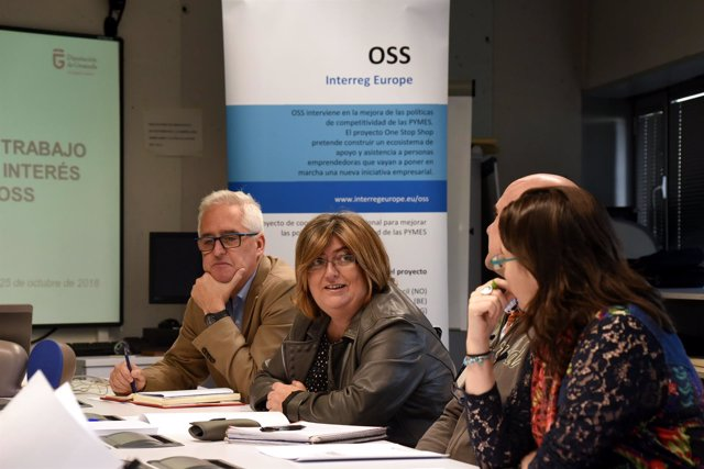 Reunión de la Diputación con responsables del proyecto OSS