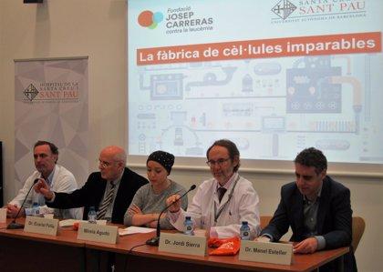 La Fundació Josep Carreras y Sant Pau impulsan un ensayo pionero en linfoma de Hodgkin