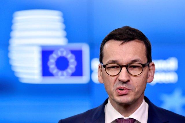 El primer ministro de Polonia, Mateusz Morawiecki