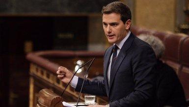 """Rivera insisteix a Sánchez que activi el 155 per """"protegir"""" els catalans i que convoqui eleccions (CIUDADANOS)"""