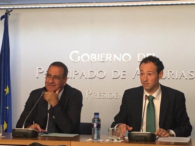 Fernando Lastra y Guillermo Martínez