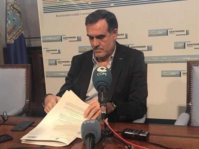El concejal de Medio Ambiente y Movilidad Sostenible, José Ignacio Quirós