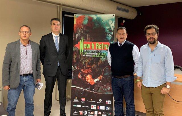 Valladolid.- Sanz, Alonso, Ramírez y Carazo hoy presentando New&Retro