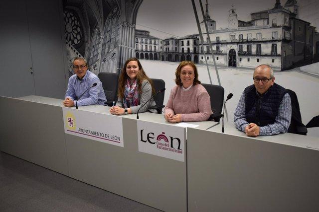 Presentación De La VIII Quedada Solidaria En Favor De Asleca